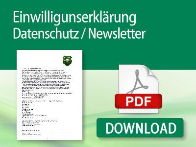 Einwilligungserklärung Datenschutz / Newsletter